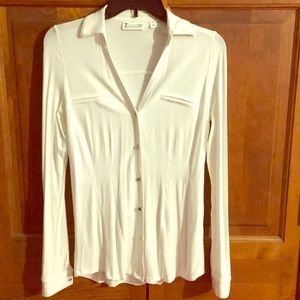 NY and company button down blouse